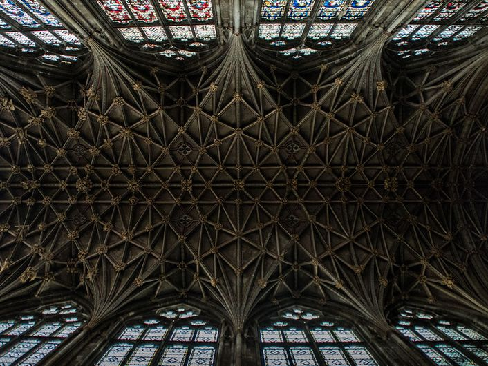 Gloucester Cathedral Roof
